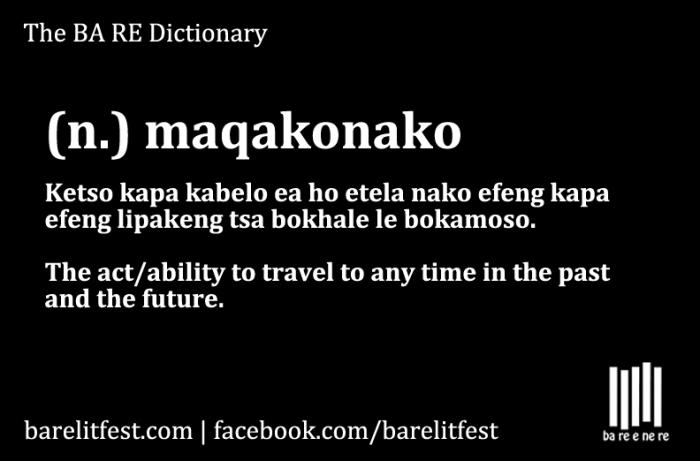 Maqakonako