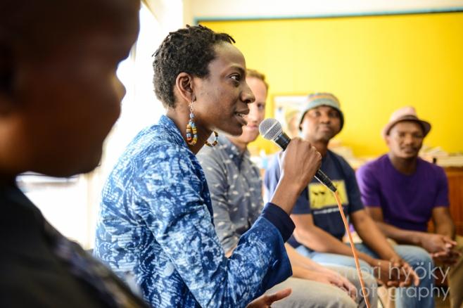 Yewande Omotoso speaks